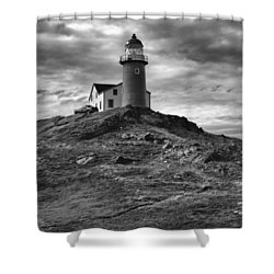 Ferryland Lighthouse Shower Curtain