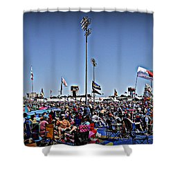 Fest Crowd Shower Curtain