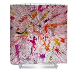 Festival Of Colours Shower Curtain