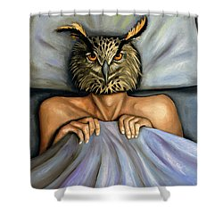 Fetish Nightmare 2 Shower Curtain by Leah Saulnier The Painting Maniac