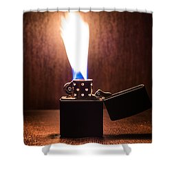 Feuer Shower Curtain by Tgchan