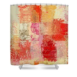 Feuilleton De Nature - S01t02a Shower Curtain by Variance Collections