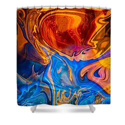 Fever Dreams Shower Curtain by Omaste Witkowski
