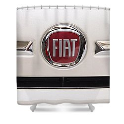Fiat Logo Shower Curtain