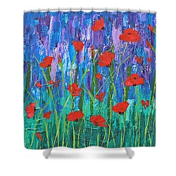Field Of Dreams Shower Curtain by Patricia Olson