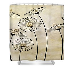 Field Of Flowers Within 1 Shower Curtain