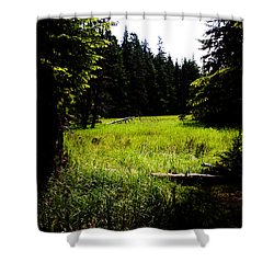 Field Of Possibilities Shower Curtain