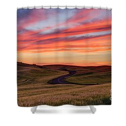 Fields And Dreams Shower Curtain