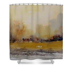 Fields Of Gold Shower Curtain by Sandra Strohschein