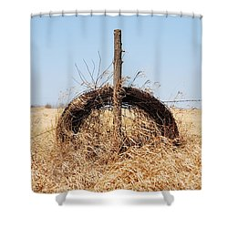 fields That Feed Shower Curtain by Jerry Cordeiro