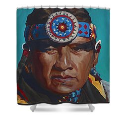 Fierce Eagle Shower Curtain