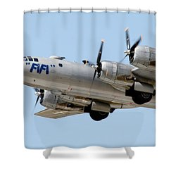 Fifi In Flight Shower Curtain