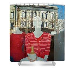 Figure In Window By Jan Marvin Shower Curtain