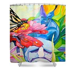 Fiji Dreams - Original Watercolor Painting Shower Curtain