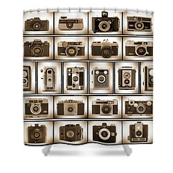 Film Camera Proofs Shower Curtain