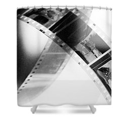 Film Strip Shower Curtain by Tommytechno Sweden