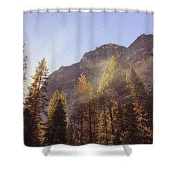 Morning Skies Of Yosemite Shower Curtain