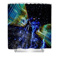 Final Exit Shower Curtain