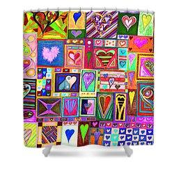 find U'r love found v8 Shower Curtain