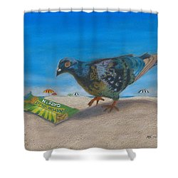 Finders Keepers Shower Curtain