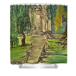 Finding Our Path Shower Curtain