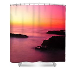 Fine Art - Pink Sky Shower Curtain