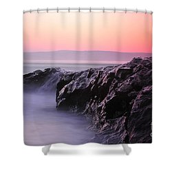 Fine Art Water 8 Shower Curtain