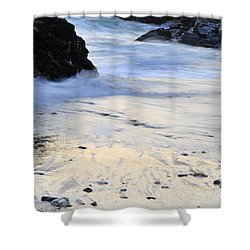 Fine Art Water Shower Curtain