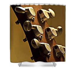 Finely Tuned Shower Curtain by Christopher Gaston