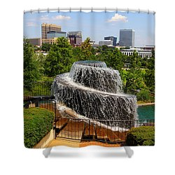 Finlay Park Columbia South Carolina Shower Curtain