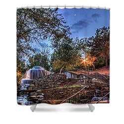 Shower Curtain featuring the photograph Finlay Park by Rob Sellers