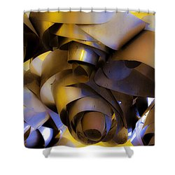 Fire And Steel Shower Curtain