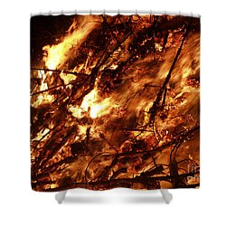 Fire Blaze Shower Curtain
