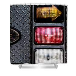 Fire Engine  Shower Curtain by Bob Orsillo