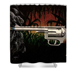 Fire In The Jungle Shower Curtain