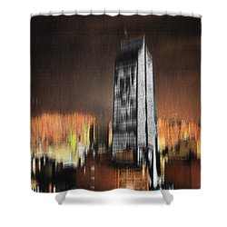 Fire Of Babylon Shower Curtain