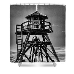 Fire Tower 2 Shower Curtain by Fran Riley