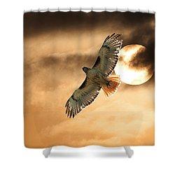 Shower Curtain featuring the photograph Firebird by Jim Garrison