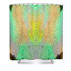 Firefly Shower Curtain by Christopher Gaston