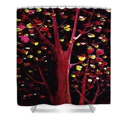 Firefly Dream Shower Curtain by Anastasiya Malakhova