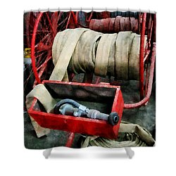 Fireman - Fire Hoses Shower Curtain