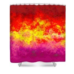 Firestarter Shower Curtain by Wendy J St Christopher