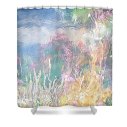 Fireweed Number 9  Shower Curtain