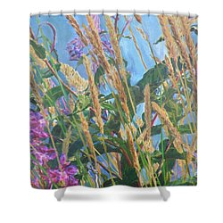 Shower Curtain featuring the photograph Fireweed Number Six by Brian Boyle