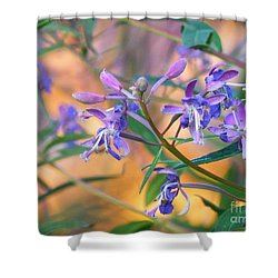 Fireweed Number Three Shower Curtain by Brian Boyle