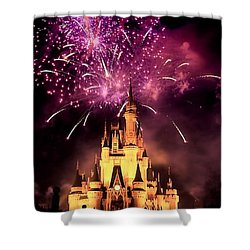 Fireworks 2 Shower Curtain