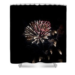 Fireworks At Night Shower Curtain