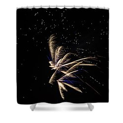 Fireworks - Dragonflies In The Stars Shower Curtain