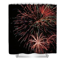 Fireworks6525 Shower Curtain by Gary Gingrich Galleries