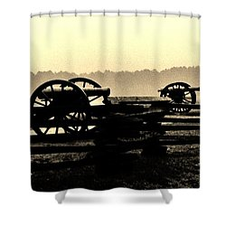 Firing Line Shower Curtain